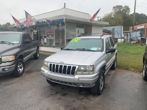 2003 Jeep Grand Cherokee for sale at Wheel'n & Deal'n in Lenoir NC