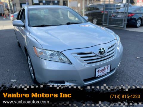 2007 Toyota Camry for sale at Vanbro Motors Inc in Staten Island NY