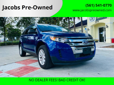 2014 Ford Edge for sale at Jacobs Pre-Owned in Lake Worth FL