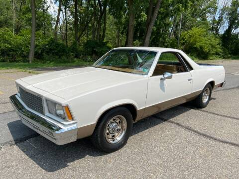 1978 Chevrolet El Camino for sale at Right Pedal Auto Sales INC in Wind Gap PA