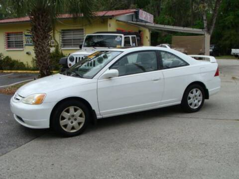 2002 Honda Civic for sale at VANS CARS AND TRUCKS in Brooksville FL