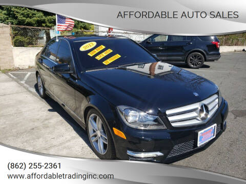 2013 Mercedes-Benz C-Class for sale at Affordable Auto Sales in Irvington NJ
