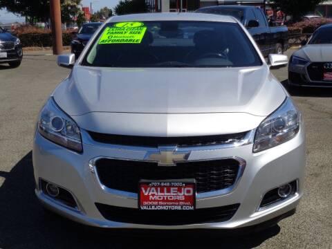 2015 Chevrolet Malibu for sale at Vallejo Motors in Vallejo CA
