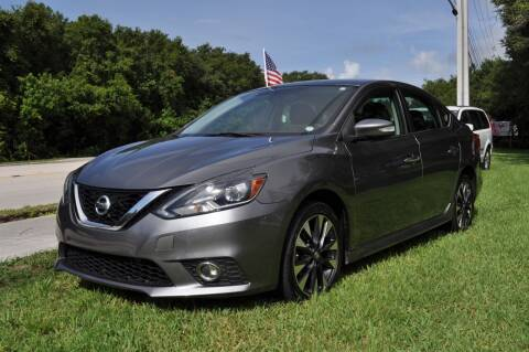 2016 Nissan Sentra for sale at STEPANEK'S AUTO SALES & SERVICE INC. in Vero Beach FL