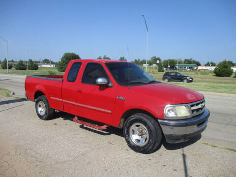 1997 Ford F-150 for sale at BUZZZ MOTORS in Moore OK