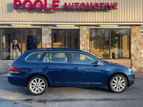 2014 Volkswagen Jetta for sale at Poole Automotive in Laurinburg NC