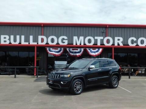 2018 Jeep Grand Cherokee for sale at Bulldog Motor Company in Borger TX