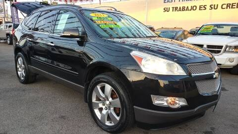 2011 Chevrolet Traverse for sale at El Guero Auto Sale in Hawthorne CA