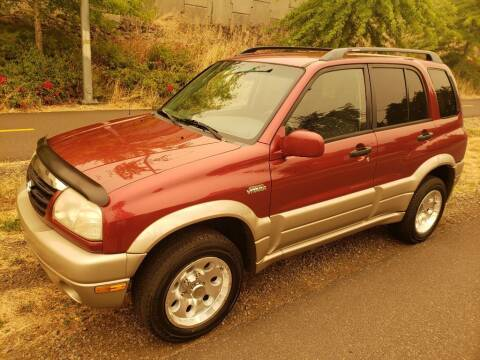 2002 Suzuki Grand Vitara for sale at KC Cars Inc. in Portland OR