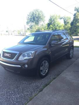 2010 GMC Acadia for sale at Hines Auto Sales in Marlette MI