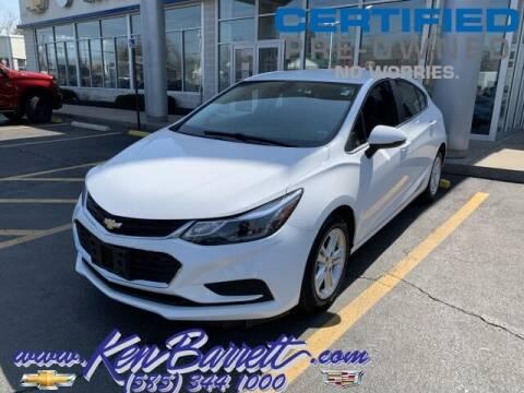 2017 Chevrolet Cruze for sale at KEN BARRETT CHEVROLET CADILLAC in Batavia NY