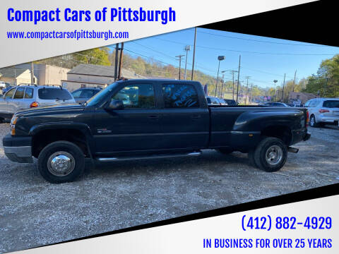 2004 Chevrolet Silverado 3500 for sale at Compact Cars of Pittsburgh in Pittsburgh PA