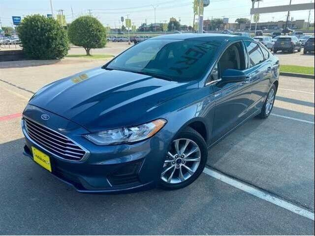 2019 Ford Fusion for sale at FREDY USED CAR SALES in Houston TX