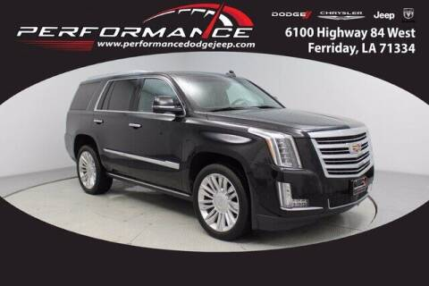 2018 Cadillac Escalade for sale at Auto Group South - Performance Dodge Chrysler Jeep in Ferriday LA