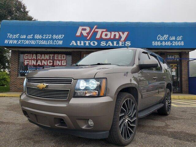 2012 Chevrolet Tahoe for sale at R Tony Auto Sales in Clinton Township MI