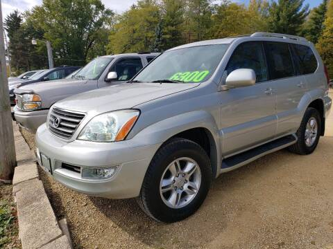 2005 Lexus GX 470 for sale at Northwoods Auto & Truck Sales in Machesney Park IL