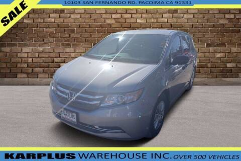2016 Honda Odyssey for sale at Karplus Warehouse in Pacoima CA