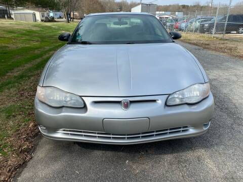 2005 Chevrolet Monte Carlo for sale at Speed Auto Mall in Greensboro NC