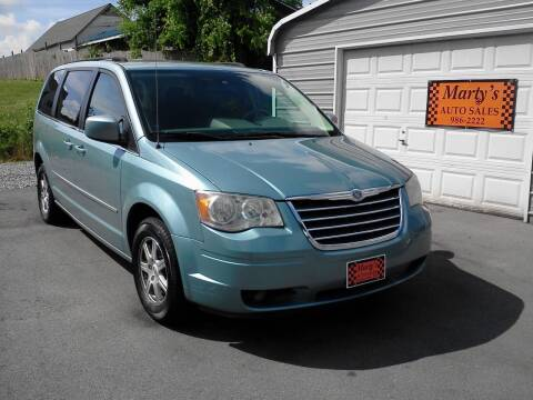 2009 Chrysler Town and Country for sale at Marty's Auto Sales in Lenoir City TN