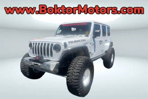 2019 Jeep Wrangler Unlimited for sale at Boktor Motors in North Hollywood CA
