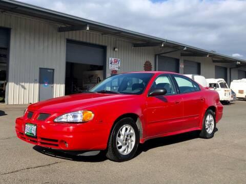 2003 Pontiac Grand Am for sale at DASH AUTO SALES LLC in Salem OR