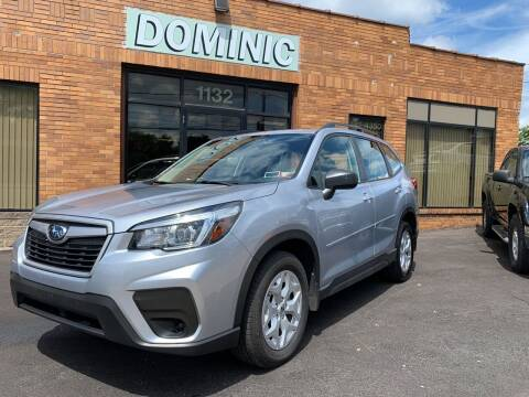2019 Subaru Forester for sale at Dominic Sales LTD in Syracuse NY