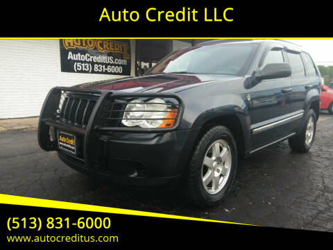 2010 Jeep Grand Cherokee for sale at Auto Credit LLC in Milford OH