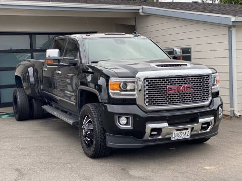 2017 GMC Sierra 3500HD for sale at Lux Motors in Tacoma WA