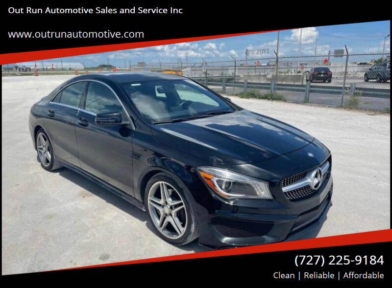 2014 Mercedes-Benz CLA for sale at Out Run Automotive Sales and Service Inc in Tampa FL