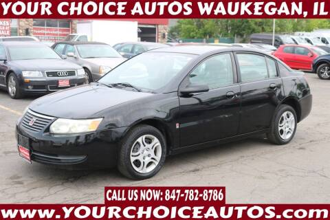 2005 Saturn Ion for sale at Your Choice Autos - Waukegan in Waukegan IL