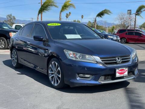 2015 Honda Accord for sale at Esquivel Auto Depot in Rialto CA