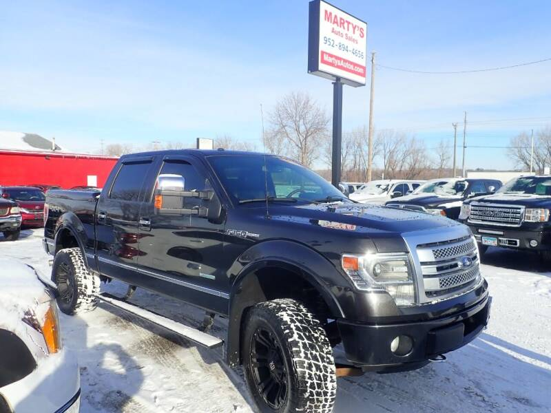 2013 Ford F-150 for sale at Marty's Auto Sales in Savage MN