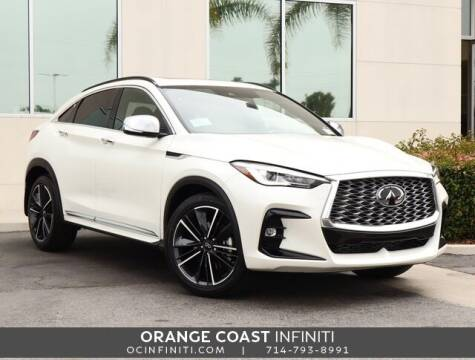 2022 Infiniti QX55 for sale at ORANGE COAST CARS in Westminster CA