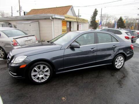 2013 Mercedes-Benz E-Class for sale at American Auto Group Now in Maple Shade NJ