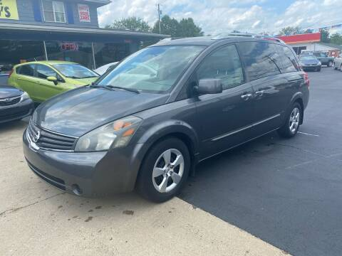 2008 Nissan Quest for sale at Wise Investments Auto Sales in Sellersburg IN