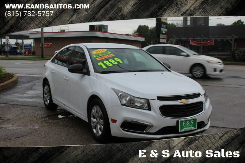 2016 Chevrolet Cruze Limited for sale at E & S Auto Sales in Crest Hill IL