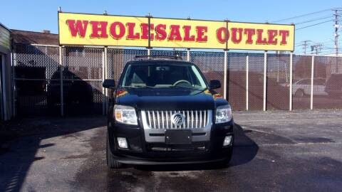 2010 Mercury Mariner for sale at LONG BROTHERS CAR COMPANY in Cleveland OH