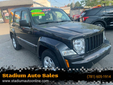 2010 Jeep Liberty for sale at Stadium Auto Sales in Everett MA
