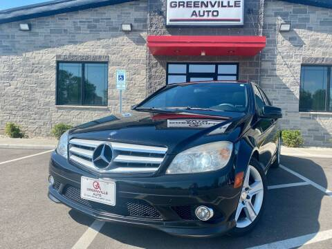 2010 Mercedes-Benz C-Class for sale at GREENVILLE AUTO in Greenville WI