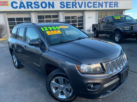 2016 Jeep Compass for sale at Carson Servicenter in Carson City NV
