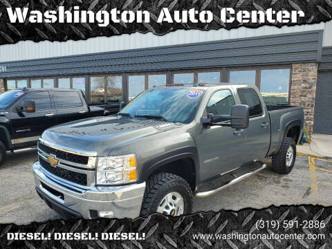 2011 Chevrolet Silverado 2500HD for sale at Washington Auto Center in Washington IA