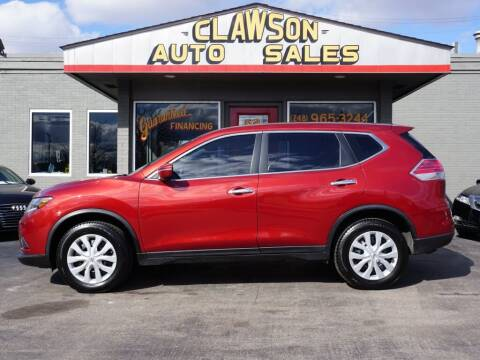 2014 Nissan Rogue for sale at Clawson Auto Sales in Clawson MI