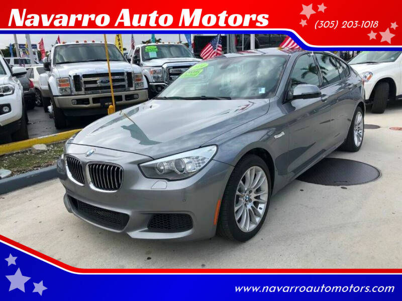 2014 BMW 5 Series for sale at Navarro Auto Motors in Hialeah FL