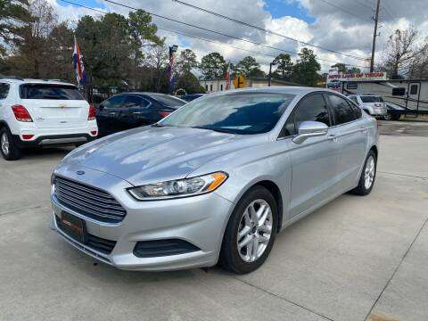2016 Ford Fusion for sale at Auto Land Of Texas in Cypress TX
