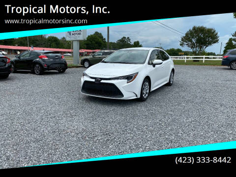 2020 Toyota Corolla for sale at Tropical Motors, Inc. in Riceville TN