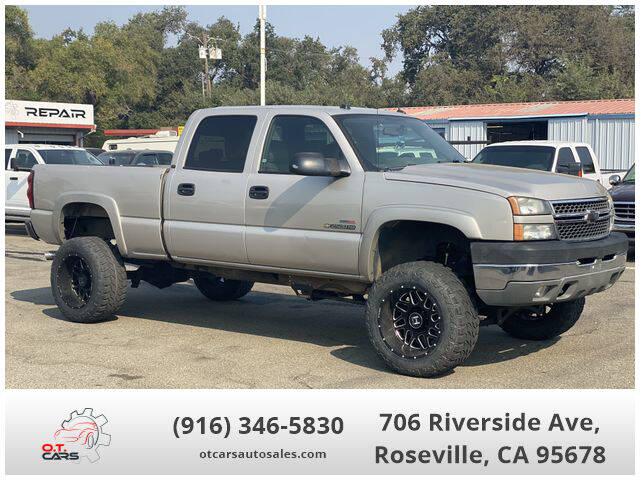 2005 Chevrolet Silverado 2500HD for sale at OT CARS AUTO SALES in Roseville CA