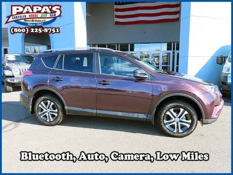 2018 Toyota RAV4 for sale at Papas Chrysler Dodge Jeep Ram in New Britain CT
