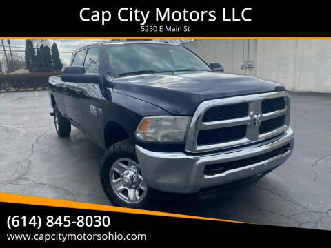 2015 RAM Ram Pickup 2500 for sale at Cap City Motors LLC in Columbus OH