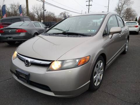 2006 Honda Civic for sale at P J McCafferty Inc in Langhorne PA