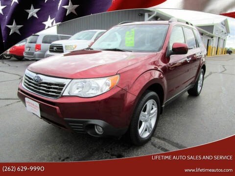 2009 Subaru Forester for sale at Lifetime Auto Sales and Service in West Bend WI